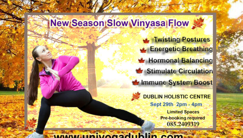 Autumn Detoxifying Vinyasa Yoga Flow